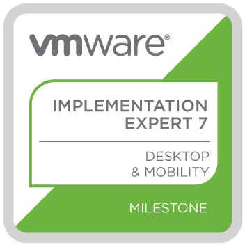 VMware Certified Implementation Expert Desktop and Mobility