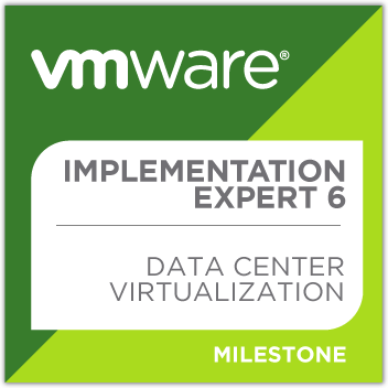 VMware Certified Implementation Expert Data Center Virtualization