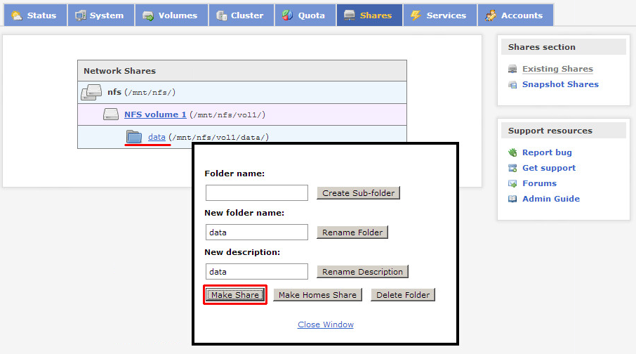 Install and configure Openfiler for ESXi shared storage with