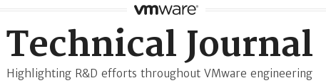 VMware Technical Journal