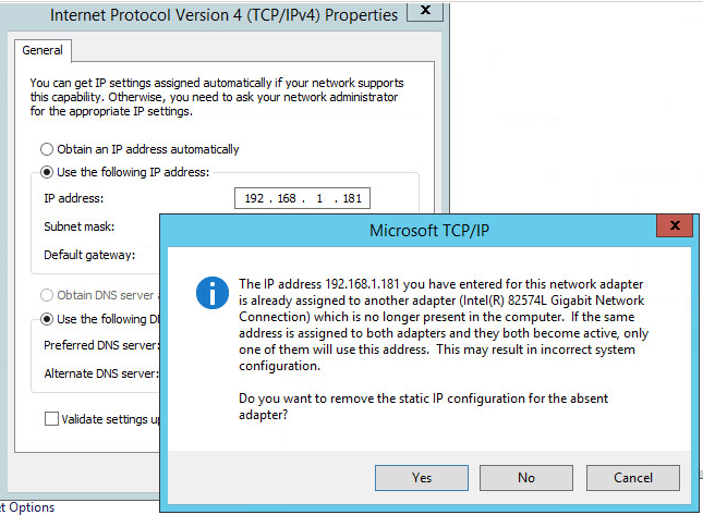 How to change the network adapter to VMXNET3 for a Windows