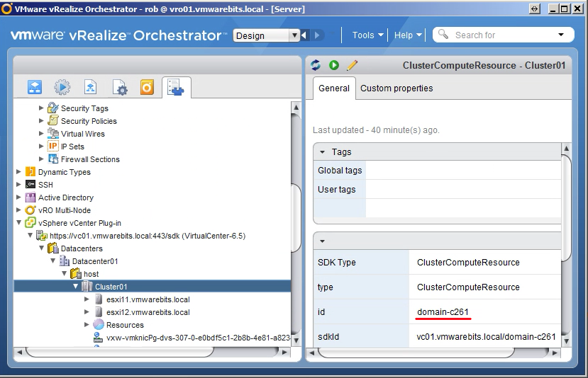 Tools to correlate MOID and inventory object names in VMware