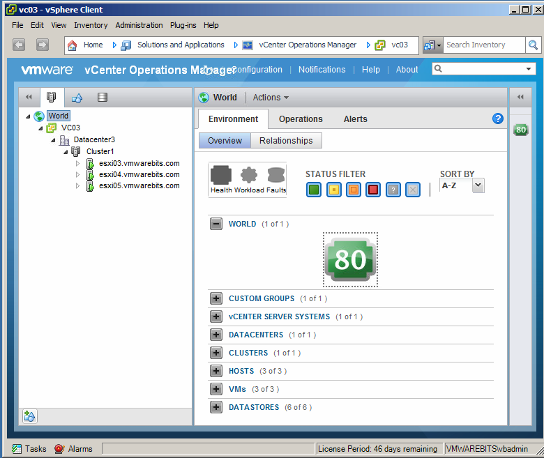 Operations Manager Icon Vcenter Operations Manager
